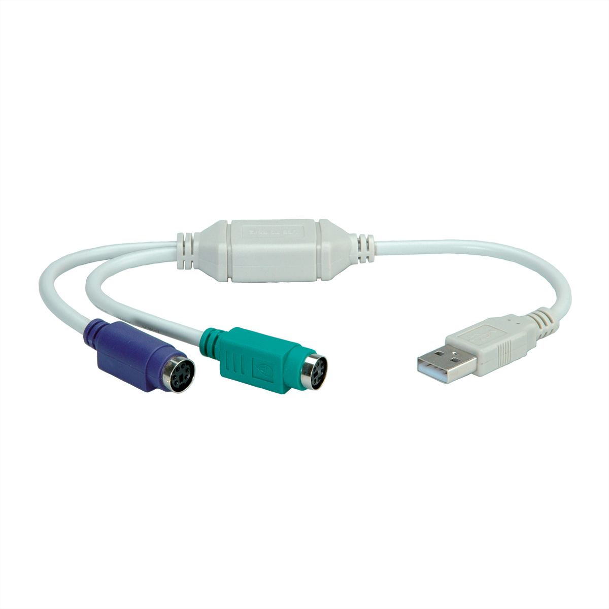 VALUE USB - 2x PS/2 Konverter