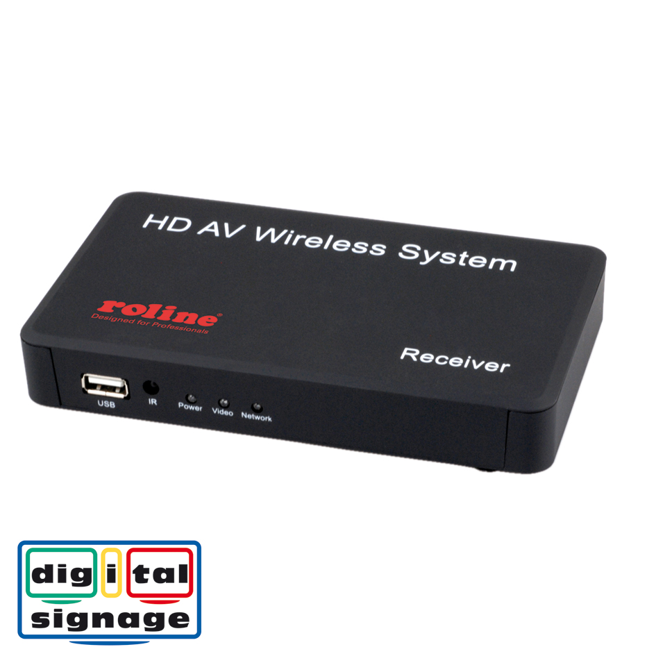 ROLINE Wireless HDMI A/V System, 30m