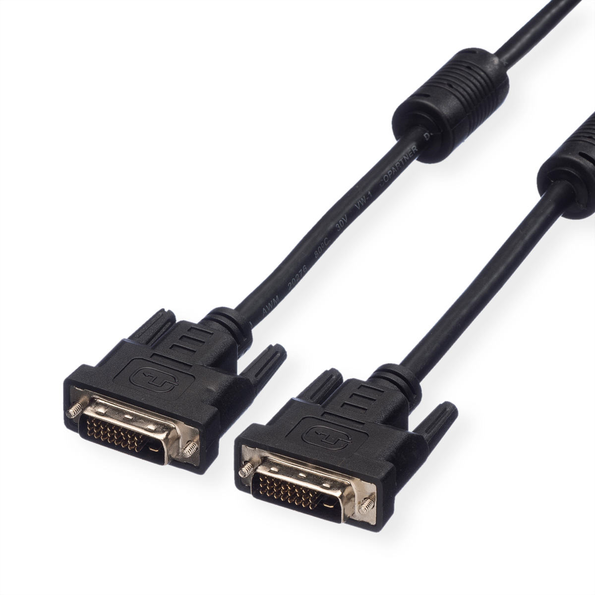 VALUE Monitorkabel DVI, DVI ST-ST, (24+1) dual link, 3 m