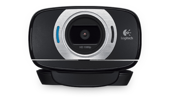 Logitech C615 Webcam 8 MP 1920 x 1080 Pixel USB 2.0 Schwarz