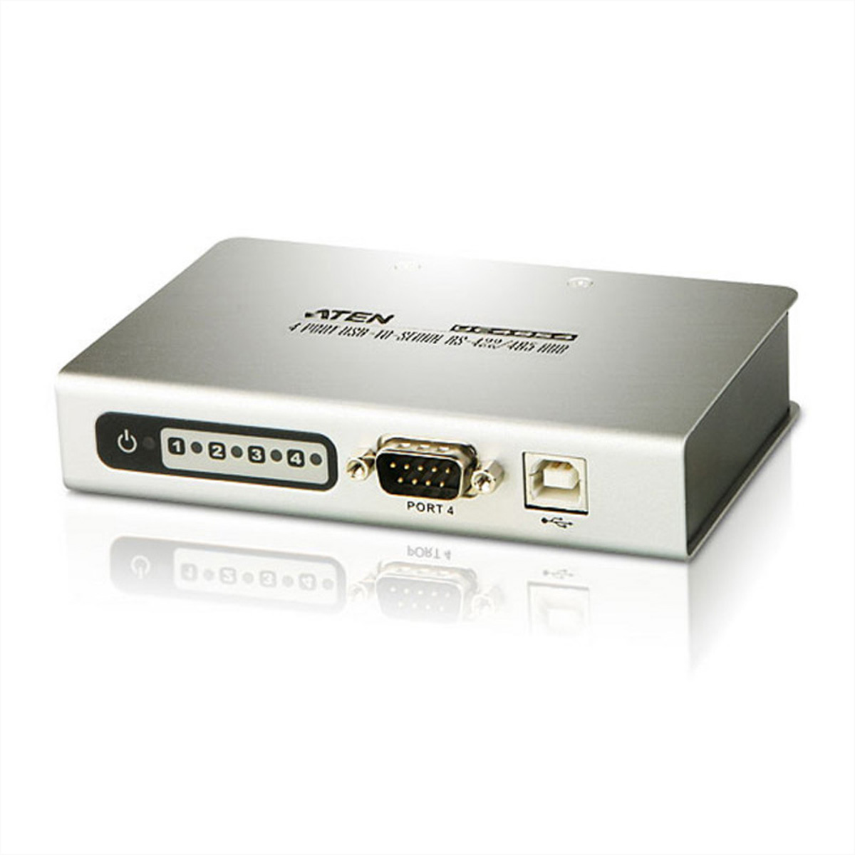 ATEN UC4854 4P USB-Serial RS-422/485 Hub
