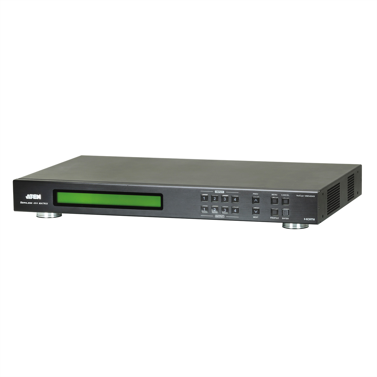 ATEN VM5404H 4x4-HDMI-Matrix-Switch mit Skalierfunktion