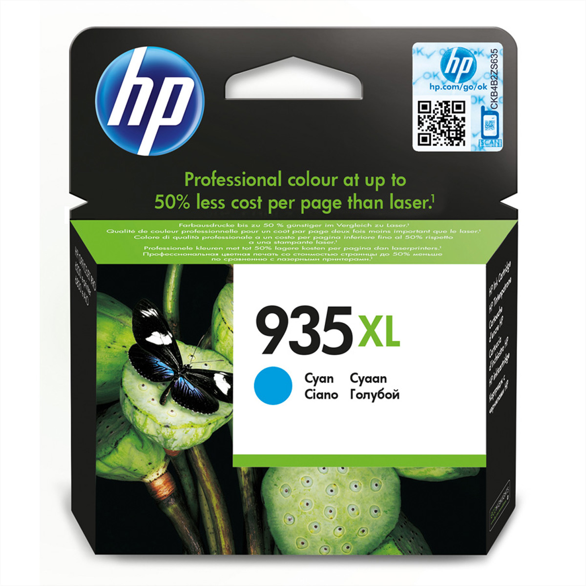 C2P24AE, Nr. 935XL, Druckpatrone, cyan für HP-OfficeJet 6812 / 6815, OfficeJet P