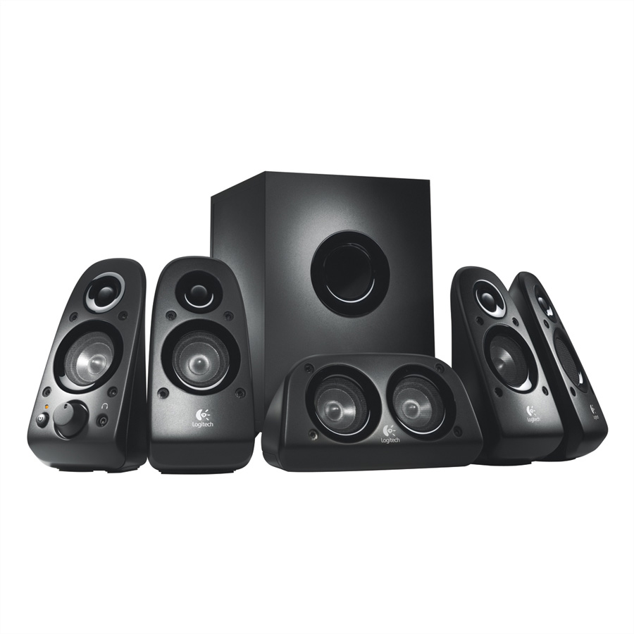 LOGITECH Z-506 PC-Multimedia-Home-Theater-Lautsprechersystem
