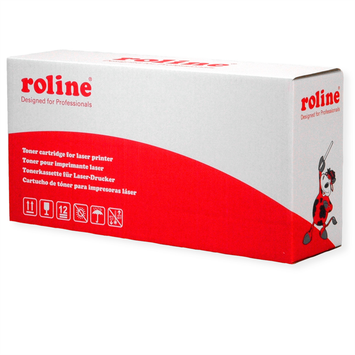 ROLINE Toner TN-2010, schwarz kompatibel zu BROTHER HL-2130