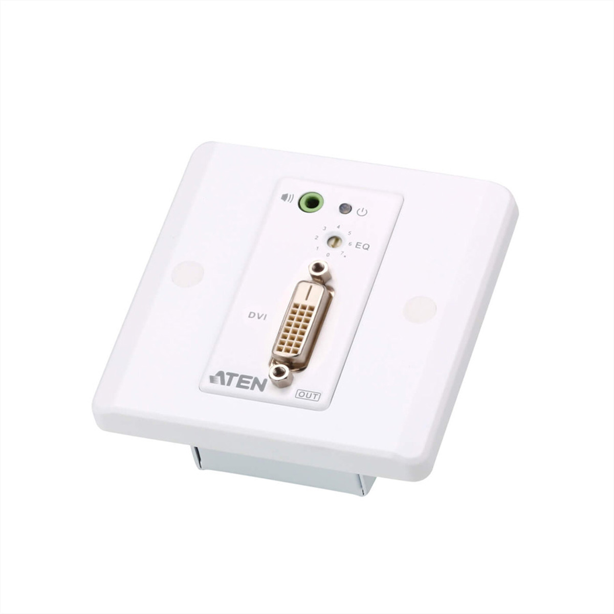 ATEN VE607 DVI/Audio  Cat5 Extender Wandplatte