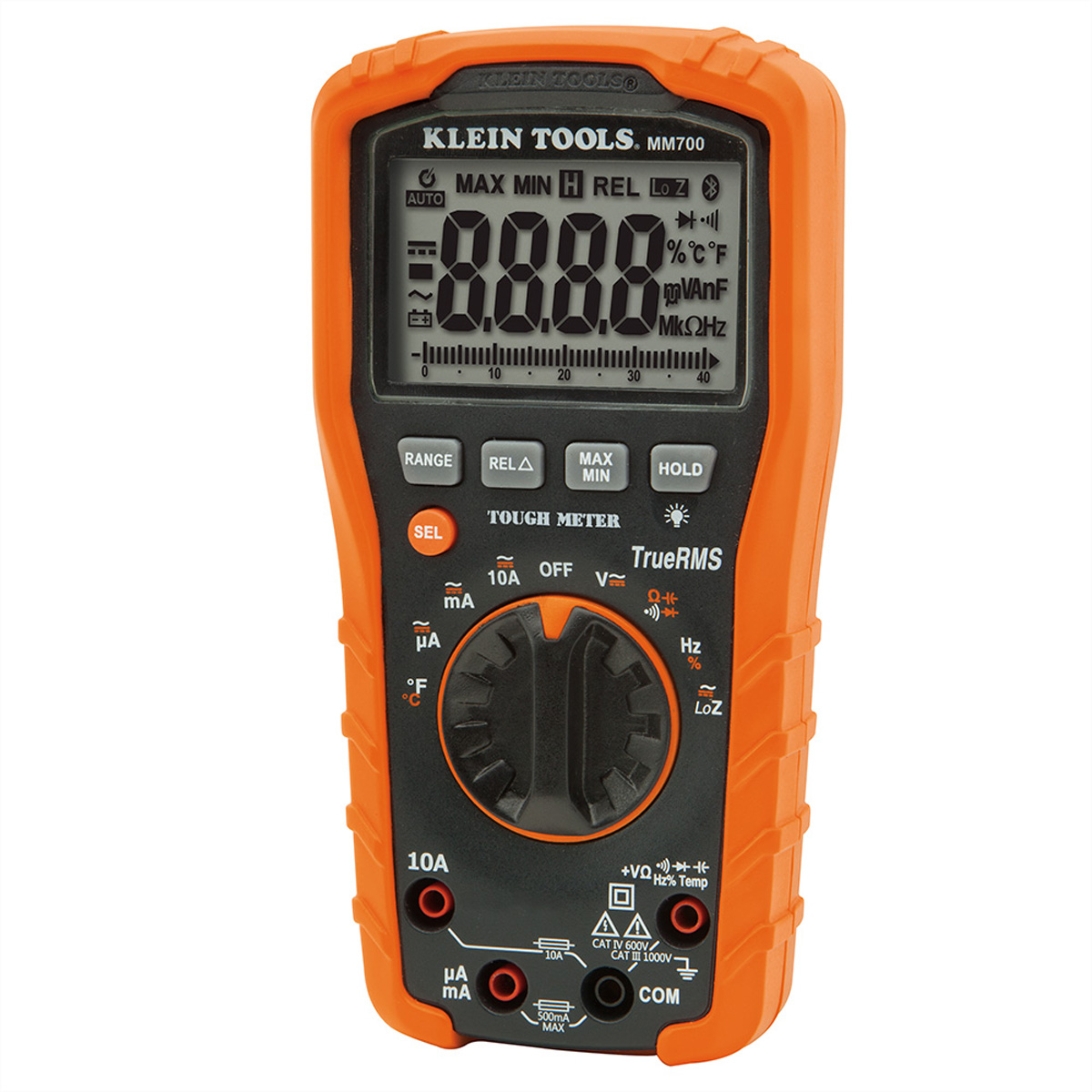 KLEIN TOOLS MM700 Digitaler Multimeter TRMS/Niedrige Impedanz, 1000 V