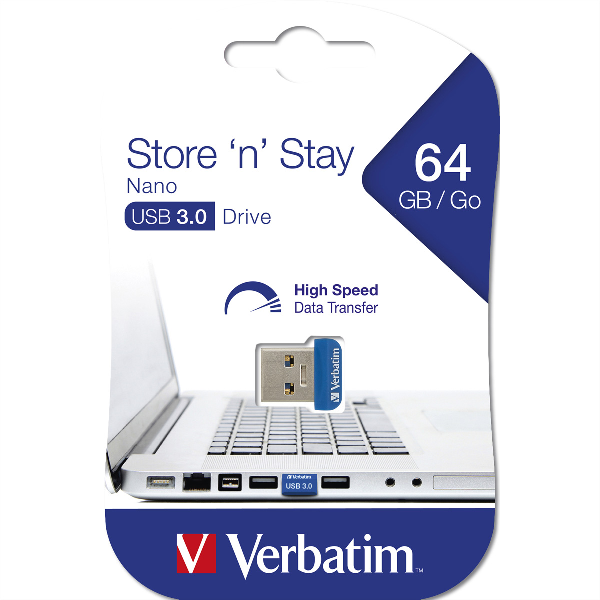 VERBATIM Store ''n'' Stay Nano USB 3.0, 64GB