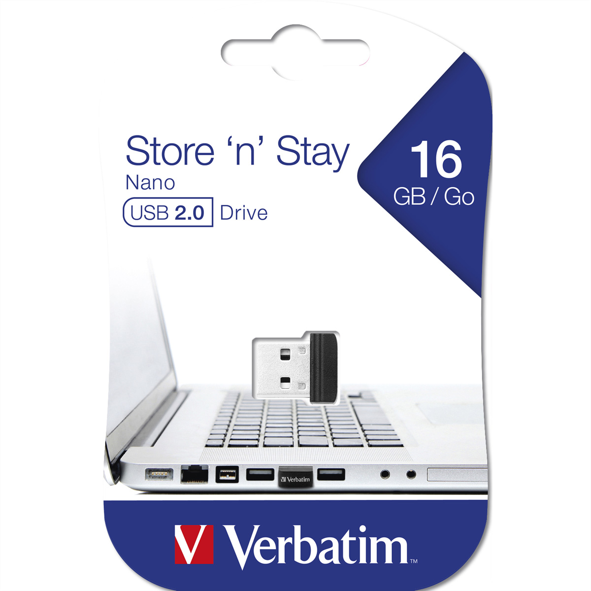VERBATIM Store ''n'' Stay Nano USB 2.0, 16GB