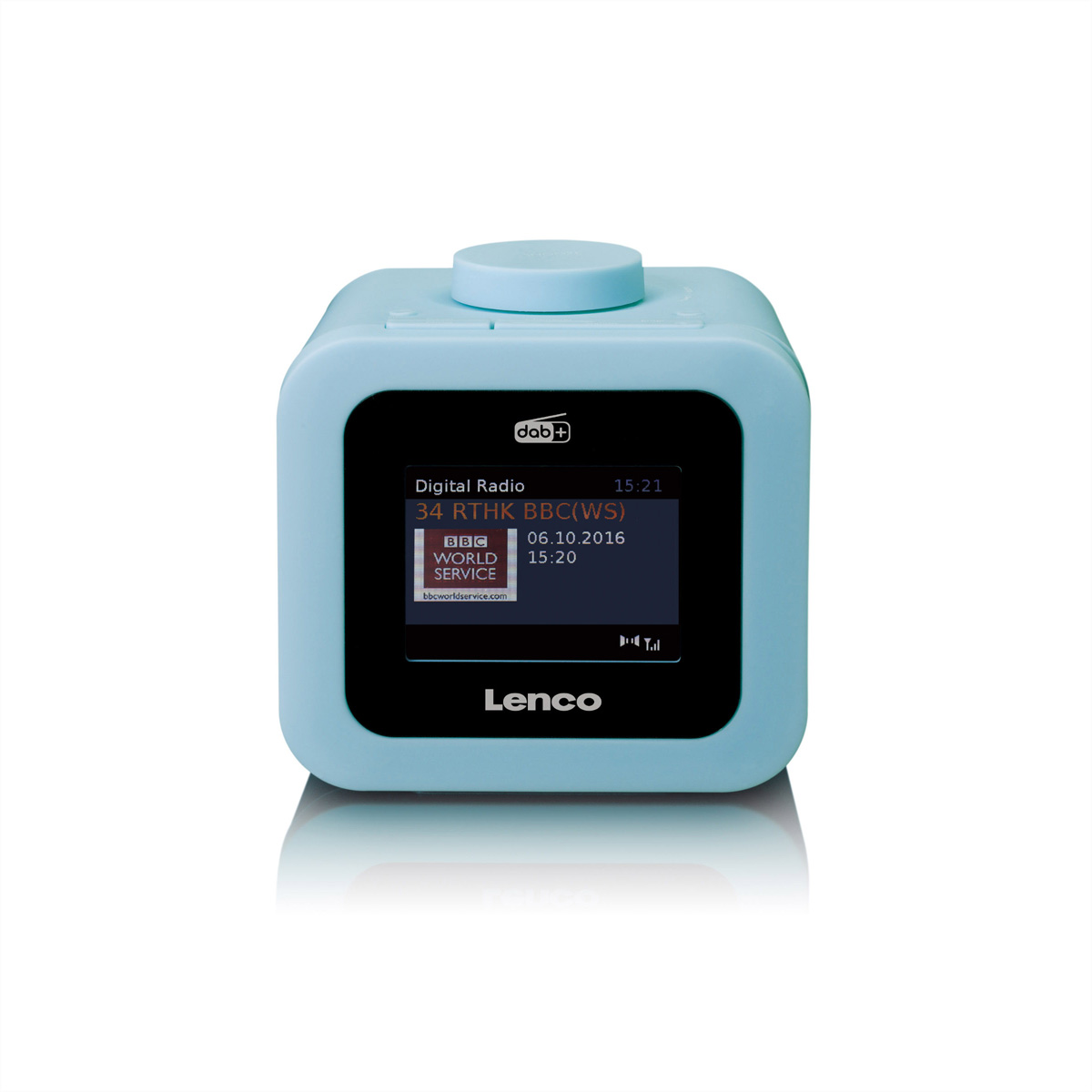 Lenco CR-620 Radiowecker blau, DAB+