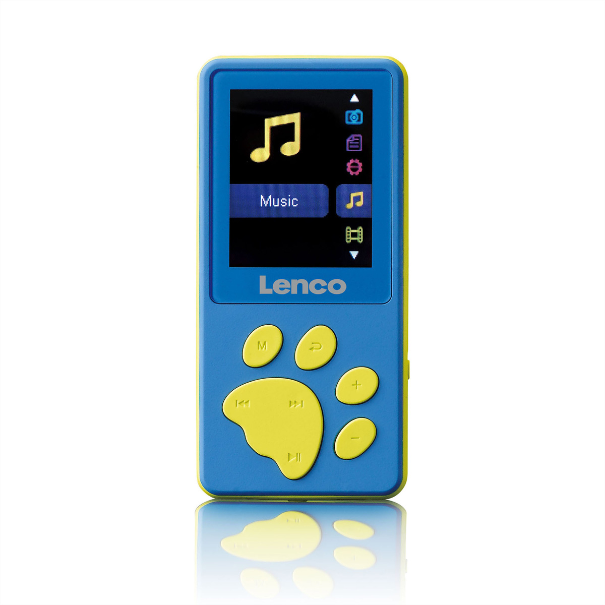 Lenco XEMIO-560 Kids MP4 Player, blau, SD Slot, Kopfhörer